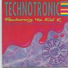 Technotronic-Rockin Over The Beat cd maxi single 4 tracks cardsleeve
