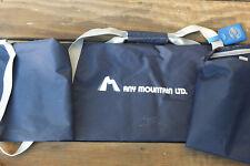 "QPS High-Quality Blue Nylon 80"" Lightwgt SKI BAG Compression Straps ~ SHIPS FREE"