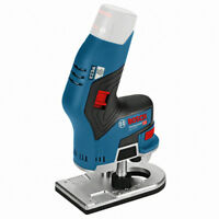 Bosch GKF 10.8V-8 Professional Compact Router 12 - Body Only(No battery)-Track