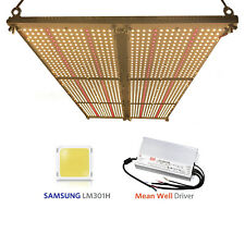 QUANTUM LED GROW LIGHT V3(rspec)600w+660nm w/Meanwell HLG-600h,SAMSUNG lm301H