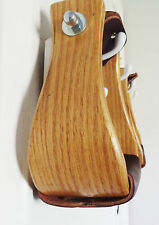 "Formay 1721563 Oak wood bell stirrups 3"" tread,western horse tack"