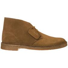 Clarks desert boots men boot DESERTBOOTM29COL Cola Fudge suede