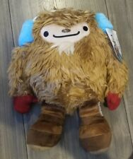"""Vancouver 2010 Olympics Mascot Quatchi w/ Red Mittens - Large 13.5"""" Tall - RARE!"""