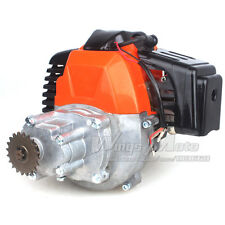 43cc 2-stroke Motor Gas Scooter Engine with Gear Box 20T T8F Sprocket DIY Engine
