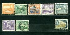 Cypres Assortment Of 8 Stamps All Genuine & Different Very Nice Lot #2019Cy01