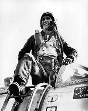 "Lockheed F-80 ""Shooting Star"" Pilot after mission 8""x 10"" Korean War Photo 4"