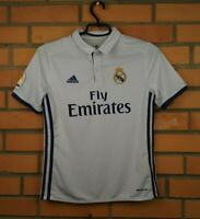 Real Madrid Jersey 2016 2017 Home Youth 11-12 Shirt AI5189 Soccer Adidas Trikot
