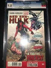 Red She-Hulk #59 Cgc 9.8 - Carlo Pagulayan Cover - 2013