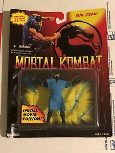 Mortal Kombat Special Movie Edition Sub-Zero Action Figure 1994 by Hasbro Toy