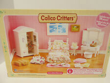 Calico Critters House Girl Bedroom Furniture Accessory Set