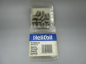 (24) HeliCoil R1084-10 M10x1.5 Metric Thread Repair Inserts MADE IN USA!
