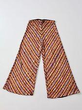 Missoni sequin knit pants wide leg size 44