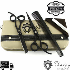 Professional Barber Hairdressing Scissors Thinning Hair Cutting Shears Set 6.5 R