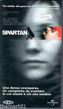 Spartan (2004) - VHS Universal Val Kilmer Derek Luke David Mamet
