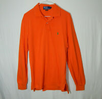 Ralph Lauren Polo Long Sleeve Casual Golf Shirt Size Small S Mens Clothing