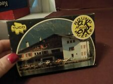 "VINTAGE TUCO ROUND MINIATURE PUZZLE ""VIEW OF THE ALPS"""