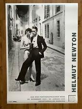 Helmut Newton Original 1994 Exhibition Poster From European Vogue Showcase