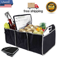 Trunk Organizer Collapsible Folding Caddy Car Auto Portable Storage Bin Bag US
