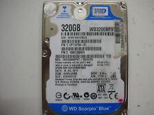 """WD Scorpio Blue 320gb WD3200BPVT-16ZEST0 2061-771672-E04 AED21 2,5 """" SATA"""