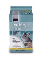 Natural Soft Grain Bathing Sand for Hamsters Gerbils Degus Show Chinchillas 1.5L