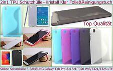 Slim Case Bumper Hülle Cover Samsung Galaxy Tab Pro 8.4 T320 T321 T325 LTE Folie