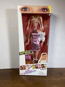 Spice Girls Doll Baby Spice Emma Bunton 1997 Galoob Girl Power Figure Doll Dog