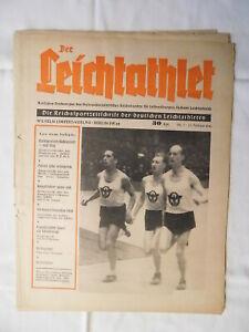 1941 Der Leichtathlet n7 Track Field Athletics Athletisme Rudolf Harbig