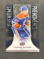 2016-17 UPPER DECK TIM HORTONS CONNOR MCDAVID CLEAR CUT PHENOMS #CC-6