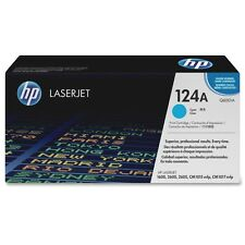 NEW GENUINE SEALED HP TONER Q6001A CARTRIDGE 1600 2600 124A CYAN