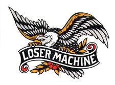 Loser Machine Skateboard Sticker - skate board skateboarding bmx surf snow skate