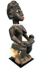 Art Africain Arts Premiers Coloniaux - Ancienne Maternité Colon Agni - 46 Cms