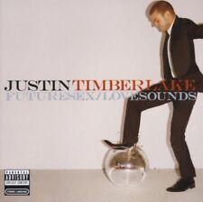 JUSTIN TIMBERLAKE CD FUTURE SEX/LOVE SOUNDS POP 2006 NEW