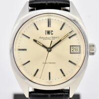 Auth IWC International Watch Co. Schaffhausen Electronic Men's Watch N#81929