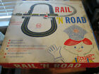 Vintage and Rare Marx HO Scale Rail 'N Road Train and Slot Car Track With Box