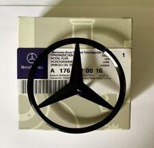 New Mercedes-Benz A CLA Class Rear Boot Lid Badge Star - GLOSS BLACK A1768170016
