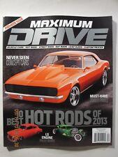 Maximum Drive Magazine - Premiere Issue #1 - Summer 2013