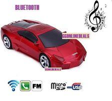Bluetooth Wireless Speaker Portable Mini Car Shape loudspeakers TF USB SD Radios