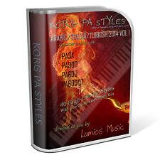 Korg Styles Arabic/Sha3bi/Turkish 2014 Vol1 for Korg PA300/600/QT/900 PA3X PA4X