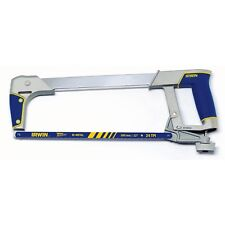Irwin HIGH TENSION HACKSAW 300mm Built-In Blade Storage Compartment *USA Brand