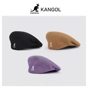 KANGOL Ladies Beret Hat Vintage Classic Newsboy Hats Men's Knitted Mesh Flat Cap
