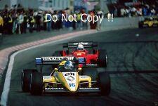 Derek Warwick Renault RE50 Belgian Grand Prix 1984 Photograph