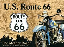 U.S. Route 66 Magnete 6x8 cm Magnete potenza Calamita da frigorifero PC301/061