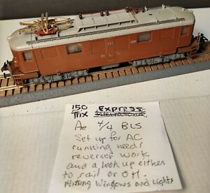 Trix  BLS Ae 4/4 AC Needs work No Original Box (twt 150)