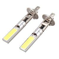 2X H1 Blanc 6000K 7.5W COB LED SMD DRL Phare au volant Ampoule de faisceau  WT