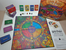Harry Potter And The Sorcerer's Stone Trivia Game Mattel 1999 Exc Board Wizard