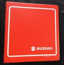 Original 1990 1991 Suzuki 400 GSF400 Bandit Moto Reparación Manual
