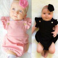 Infant Newborn BABY Romper Jumpsuit Bodysuit Kid Girl Clothes Outfits Sunsuit