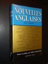 NOUVELLES ANGLAISES - 1963
