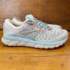 Brooks Glycerin 16 1202781B115 Running Shoe Women's Size 10B White/Blue/Pink