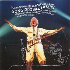 GONG GLOBAL FAMILY: Live in Brazil – 20 November 2007 VOICEPRINT CD Neu